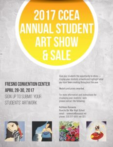2017 CCEA Annual Student Art Show and Sale