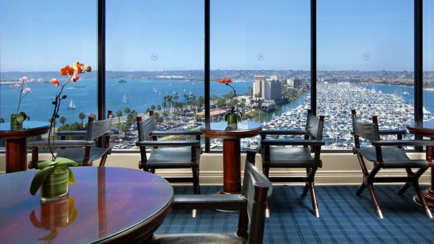 Sheraton San Diego Hotel and Marina (club house)