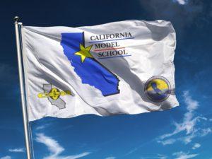 California Model School Flag - CCEA
