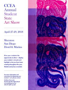 2018 Student Art Show and Sale : April 27-29