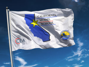California Model School Flag - CCEA