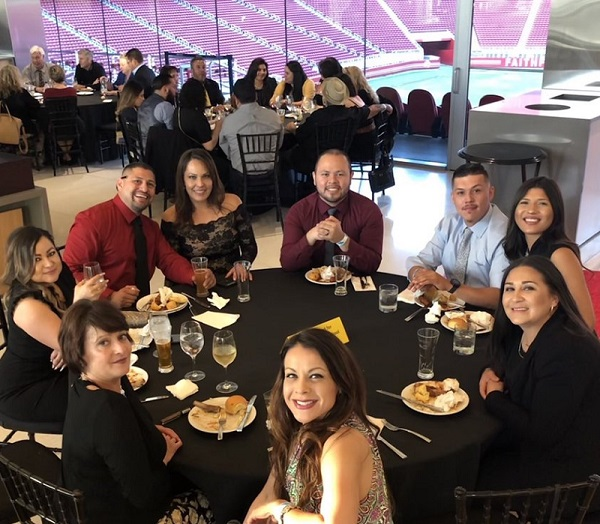 CCEA Member Benefits - Pictured: Awards dinner 2019 at Levi's Stadium