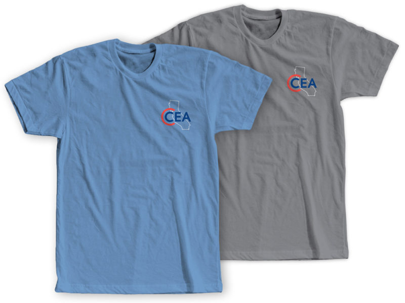 CCEA T-Shirts, featured, available now