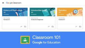 Webinar on Google Classroom, December 12, 2019