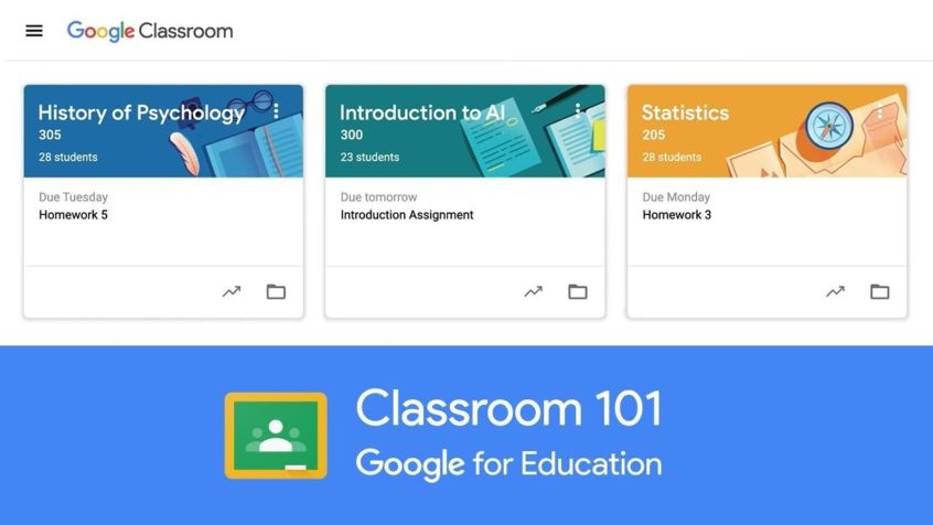 Webinar on Google Classroom, December 12, 2019