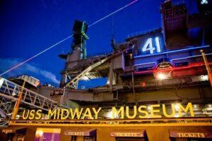 USS Midway event venue, museum entrance