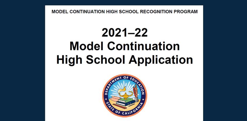 Model School Application Webinars 2021